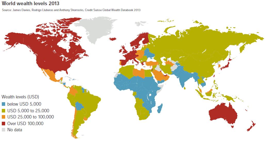 فيديومدبلج :أين تتركز الثروة في العالم وكيف حدث ذلك
