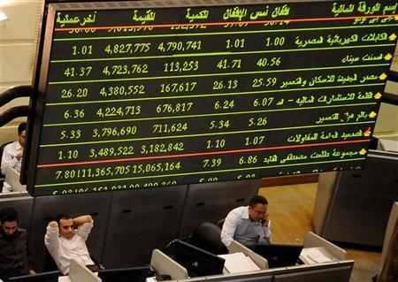 البورصة المصرية تفتتح على ارتفاع
