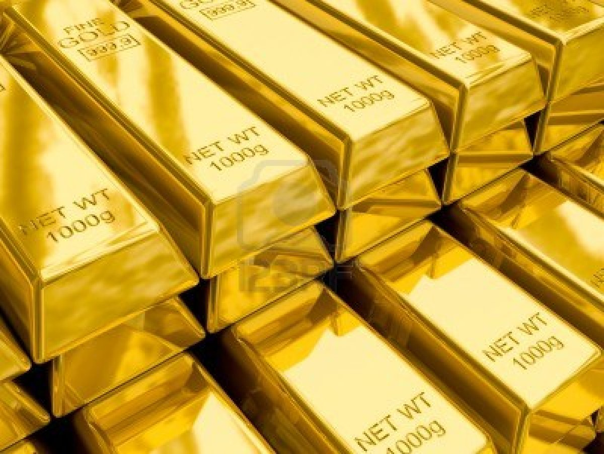 الذهب عند أعلى مستوياته منذ 3 أسابيع .