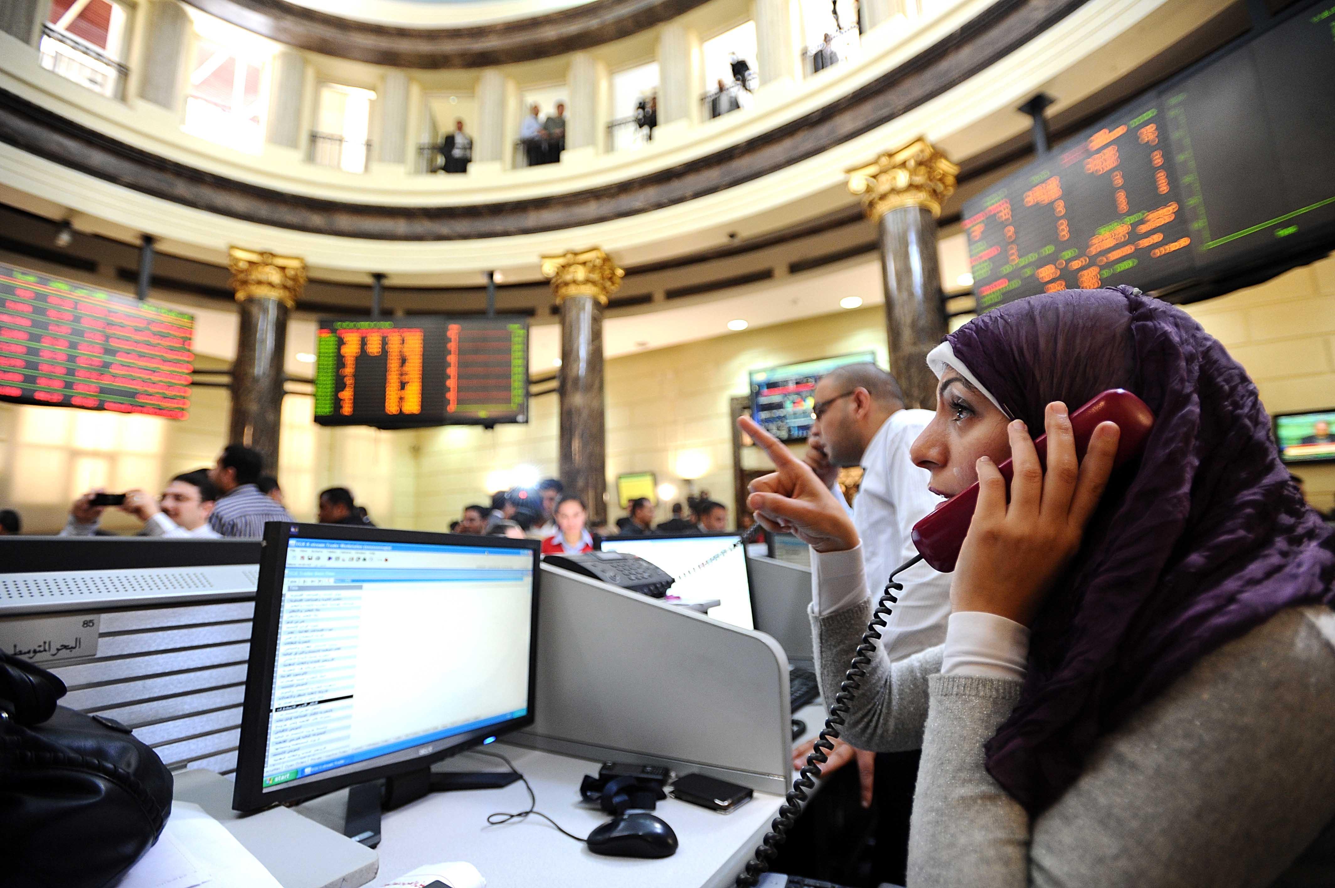 المؤشر الرئيسي للبورصة المصرية يغلق في المنطقة الخضراء ..!!