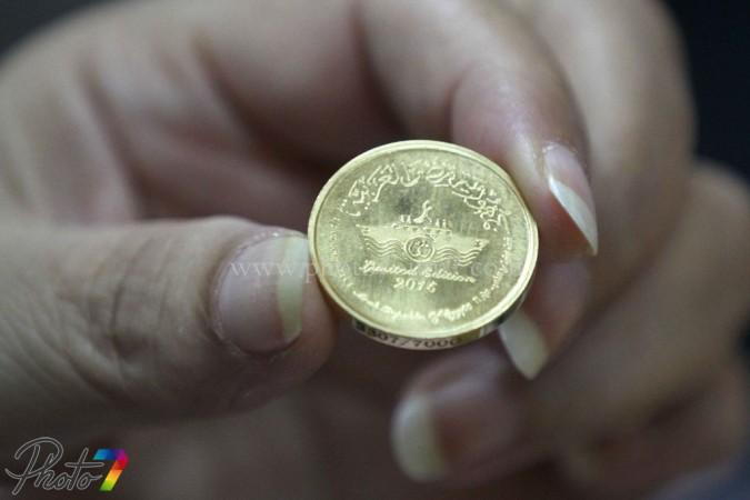 تعرف على حصيلة بيع تذكارات قناة السويس الذهبية…