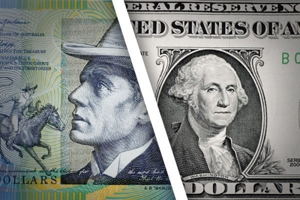 الاسترالي ---مقابل الدولار خفاش  الفوركس العربي 7 10 2015 AUDUSD