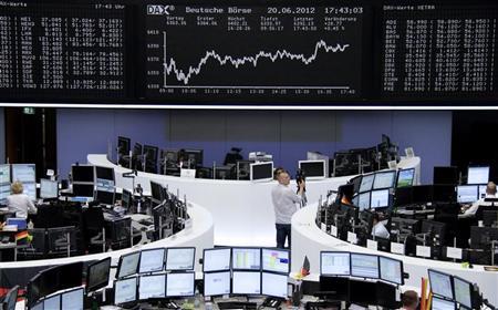الأسهم الأوروبية تتراجع اليوم ..!!