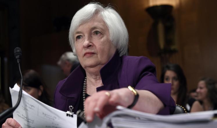 حديث جانيت يلين بخصوص سياسة الفيدرالي في رفع الفائدة للعام 2015..!