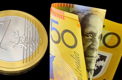 فرصة بيع على اليورو مقابل الدولار  الأسترالي