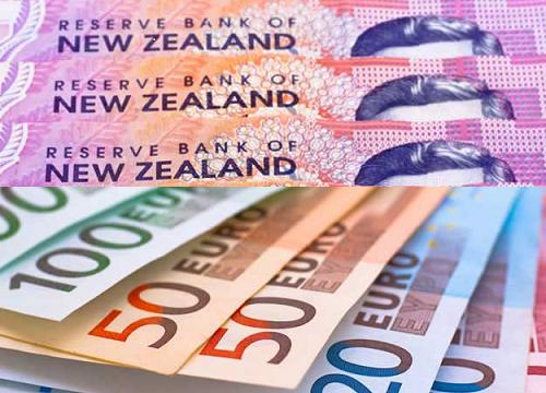 فرصة تداول على اليورو مقابل الدولار النيوزيلندي .