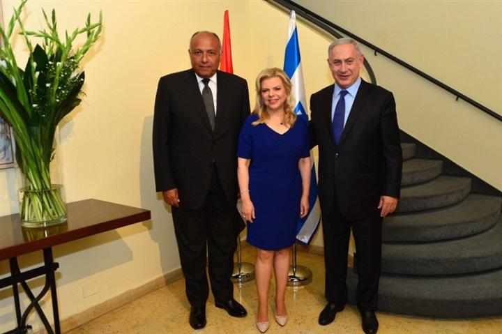 زيارة سامح شكري وزير الخارجية المصري لاسرائيل