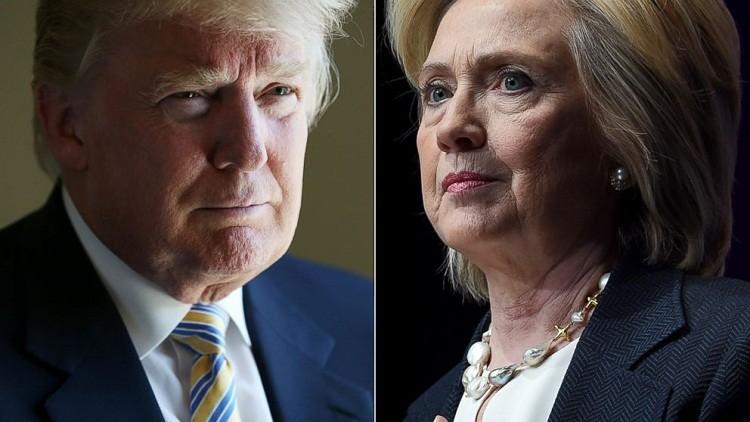 كلينتون توسع الفارق بينها وبين ترامب