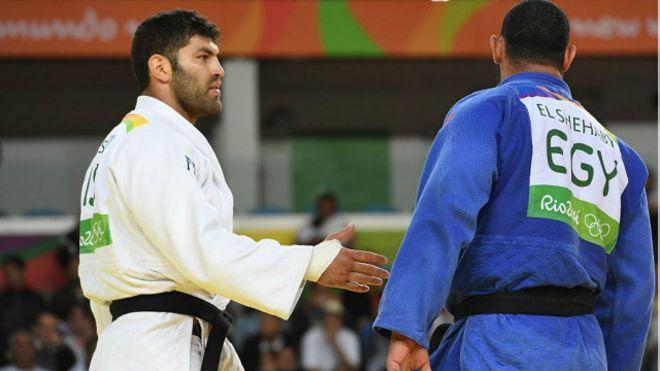 اعادة لاعب الجودو اسلام الشهابي الي مصر بعد قرار اللجنة الاولمبية