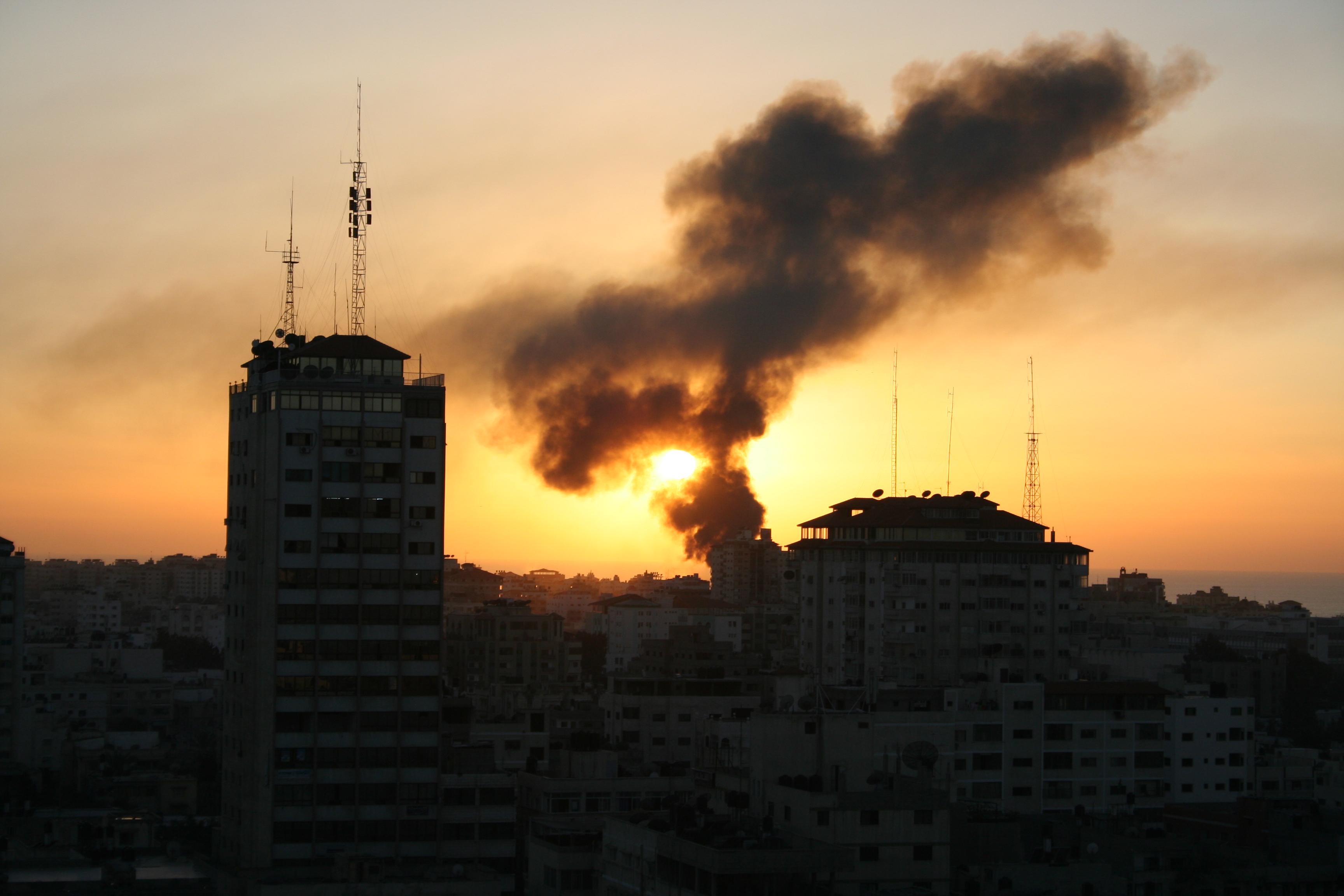قصف مدفعي اسرائيلي علي شمال قطاع غزة