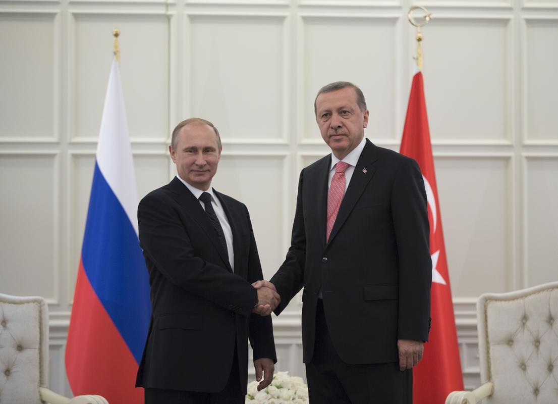 بوتين و اردوغان يرغبان في عودة العلاقات الاقتصادية بين بلديهما