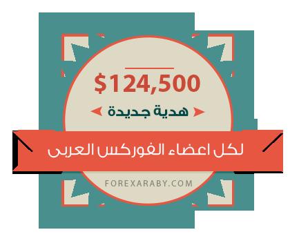 124 الف دولار هدية لاعضاء منتدى الفوركس العربى