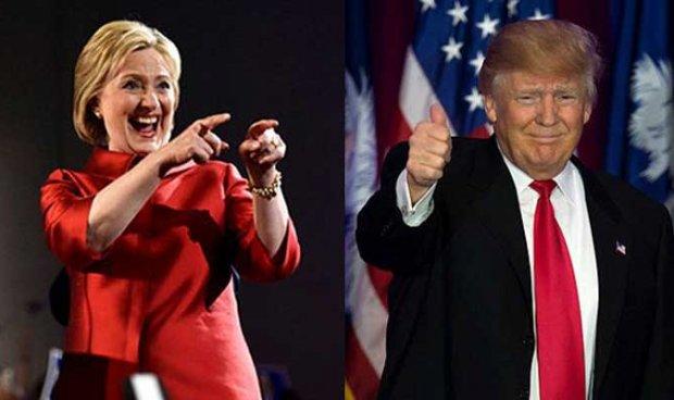 """أول فوز لـ""""هيلاري"""" على """"ترامب"""" في الانتخابات الأمريكية"""
