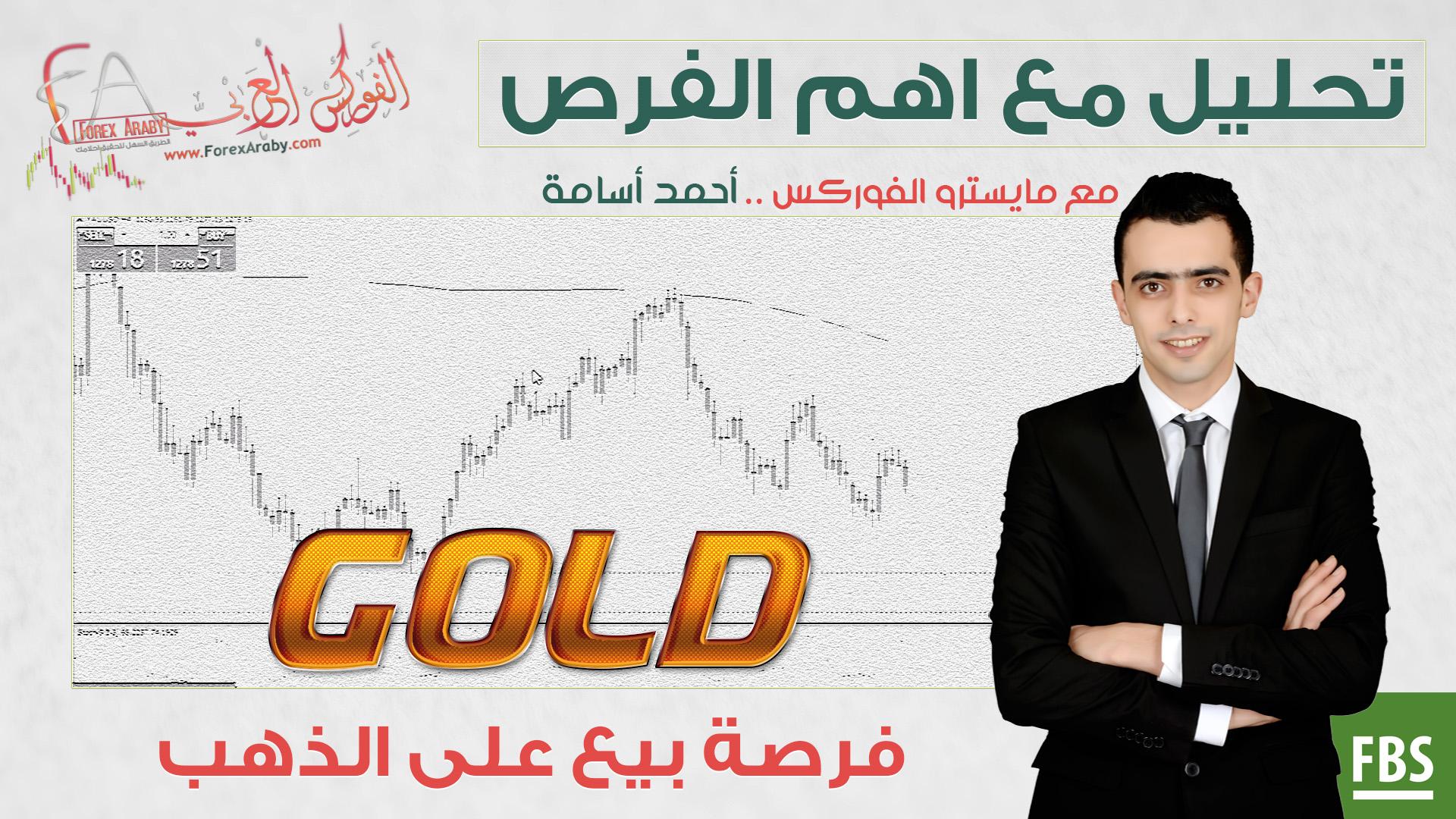 فرصة بيع على الذهب