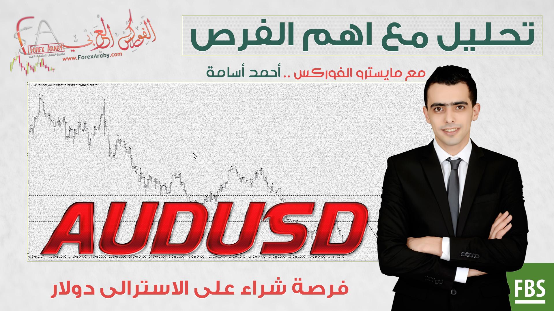 فرصة شراء على الاسترالى دولار audusd