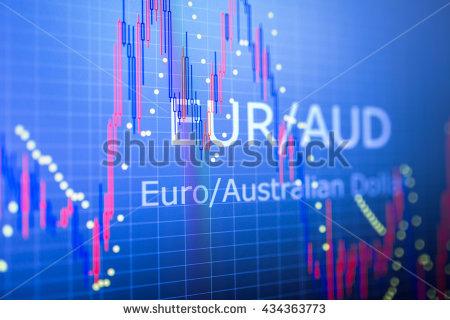 رؤية فنية على اليورو مقابل الأسترالى