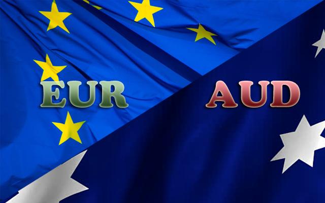 نظره فنية على اليورو مقابل الدولار استرالى ( EUR-AUD )