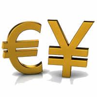 رؤية فنية على اليورو ين