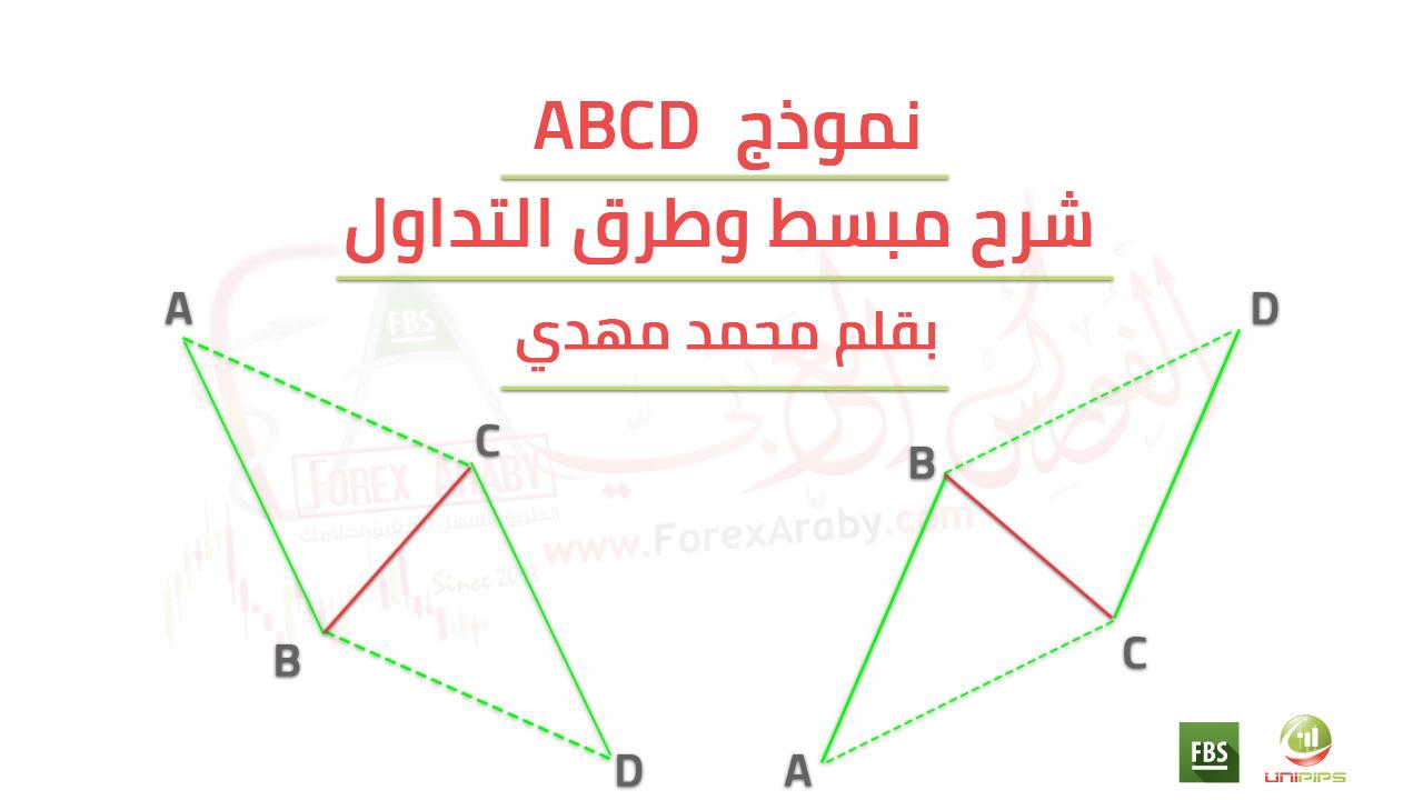 شرح مبسط وطرق التداول علي نموذج abcd