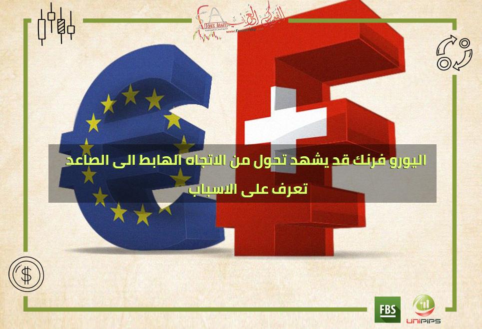 اليورو فرنك قد يشهد تحول من الاتجاه الهابط الى الصاعد , تعرف على الاسباب .