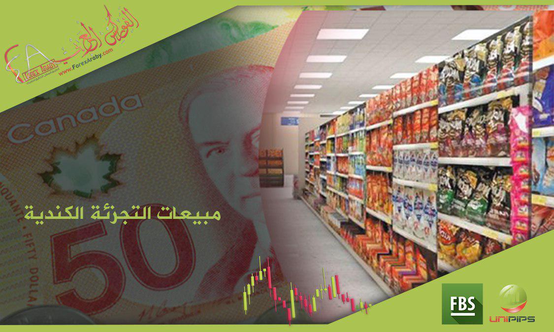 مبيعات التجزئة الكندية